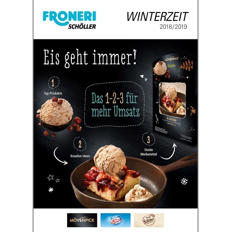 FRONERI Schöller Winterzeit Folder 2018