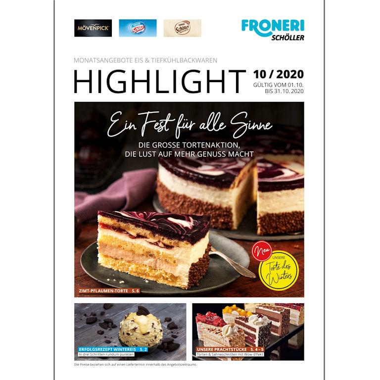 Highlight EIS & TIEFKÜHLBACKWAREN Oktober 2020