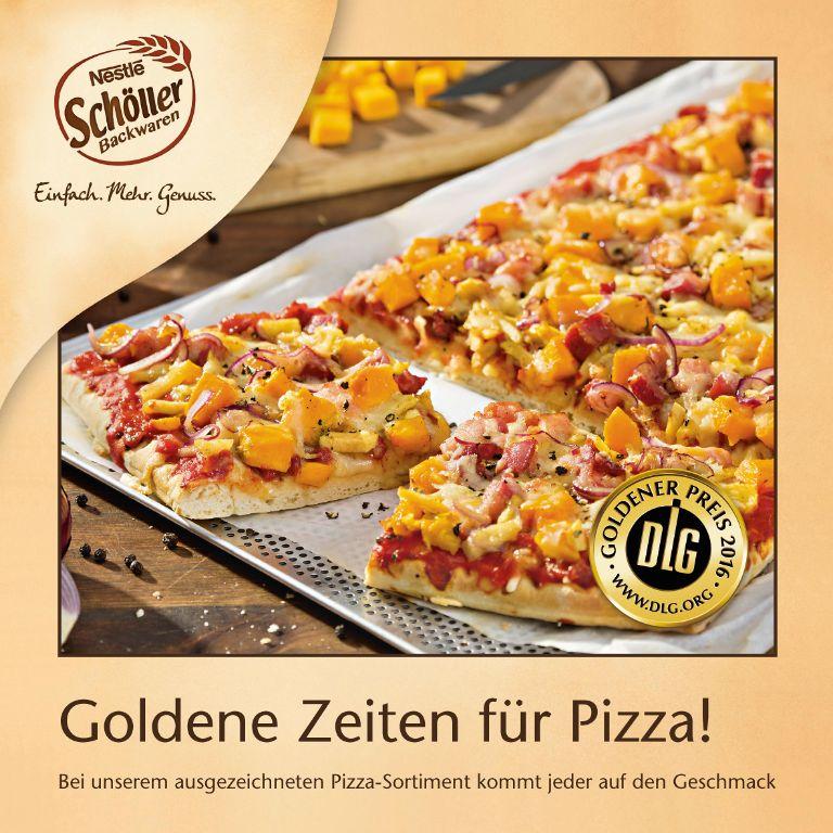 Goldene Zeiten für Pizza!