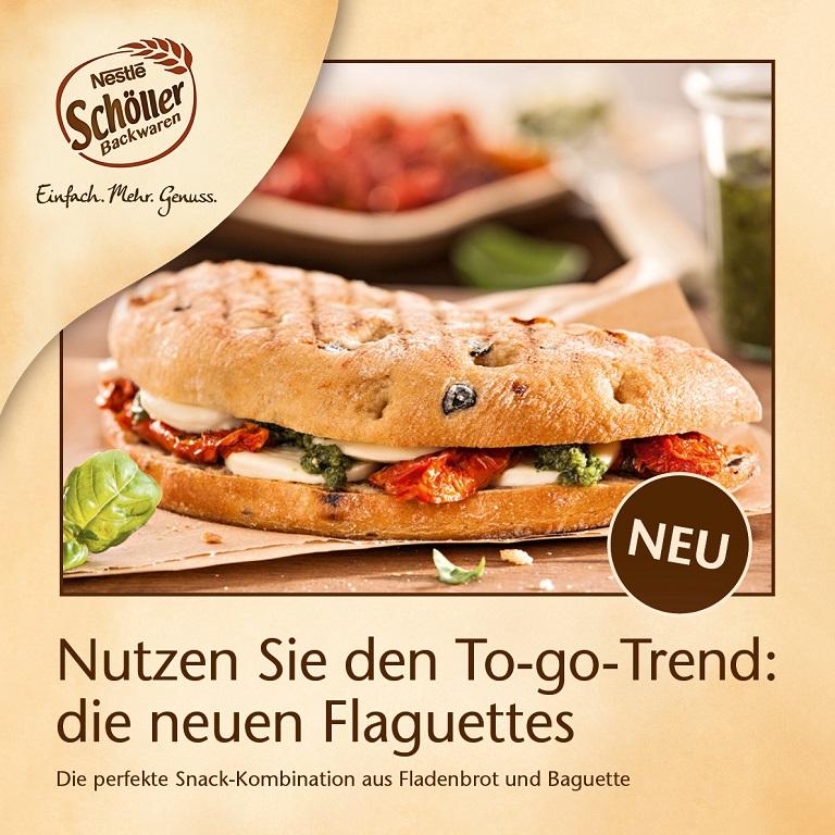 Unser Snack-HIGHLIGHT: Die neuen Flaguettes